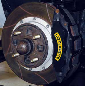 Lotus Big Brake Conversion Kits