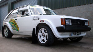 New for 2012 - Lotus Sunbeam rally car
